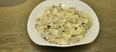 Хычин с картофелем